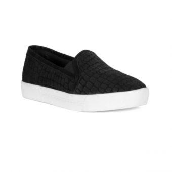 Huxley Black Croc Sneaker