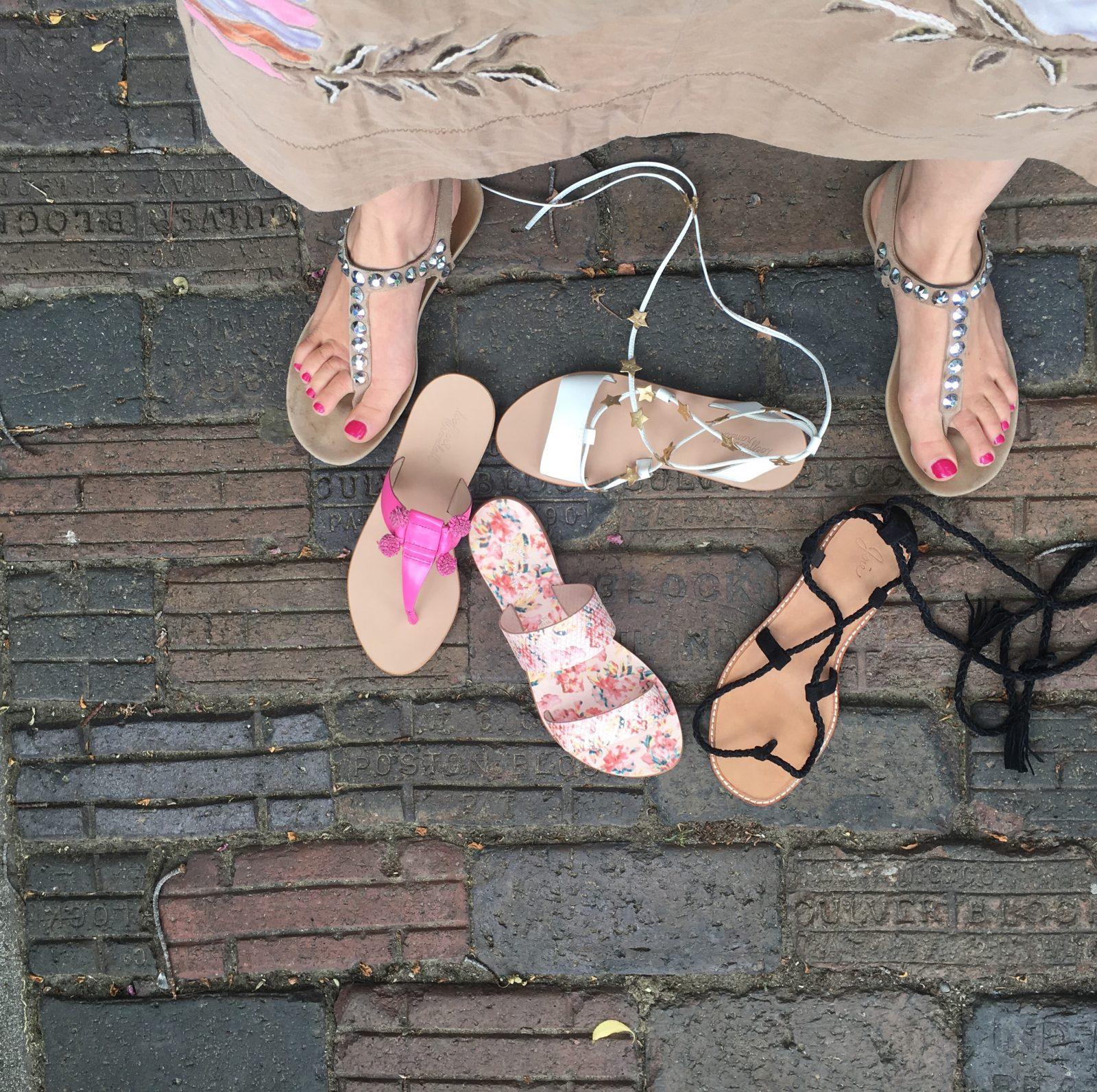 Joie, Loeffler Randall Designer Sandals
