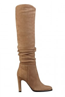 Sexy Tan Heel Boot