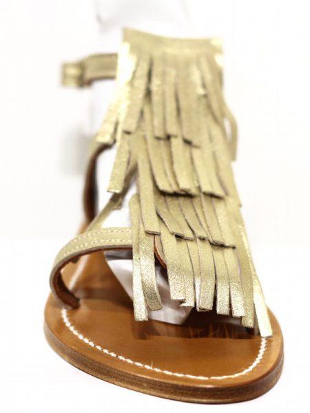 K Jacques Corsaire Fringe Sandal