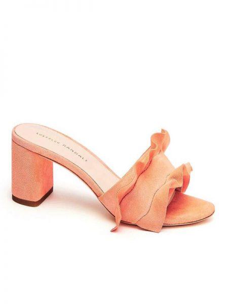 Loeffler Randall Vera Mellon Ruffle Sandal