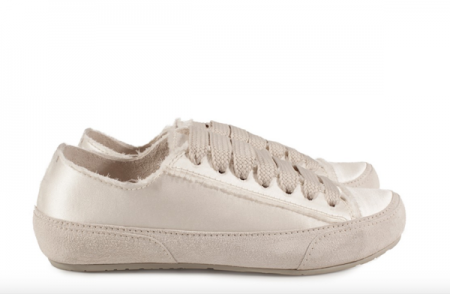 Pedro Garcia ParsonTitanium Satin Sneaker