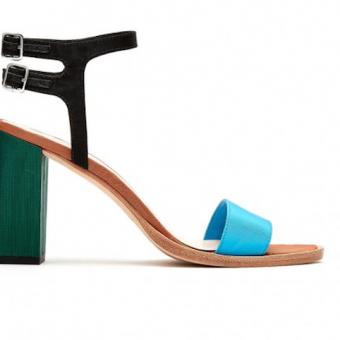 Loeffler Randall Sylvia Block Heel Sandal