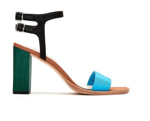 2aeedbfb5847 Loeffler Randall Sylvia Block Heel Sandal - Tlins Shoes
