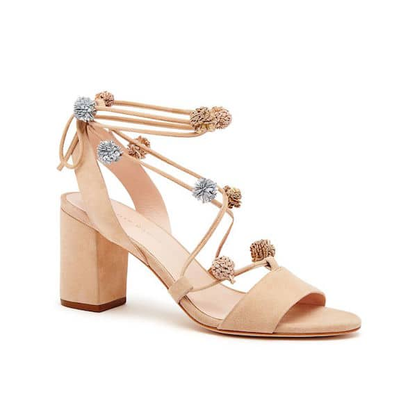 756779a8308b Loeffler Randall Bea Lace Up Neutral Block Heel Sandal - Tlins Shoes