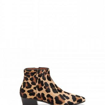 Aquatalia Fire leopard Bootie Waterproof